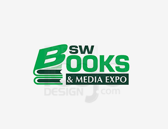 BSW Books & Media Expo Entertainment Logo Design - DreamLogoDesign