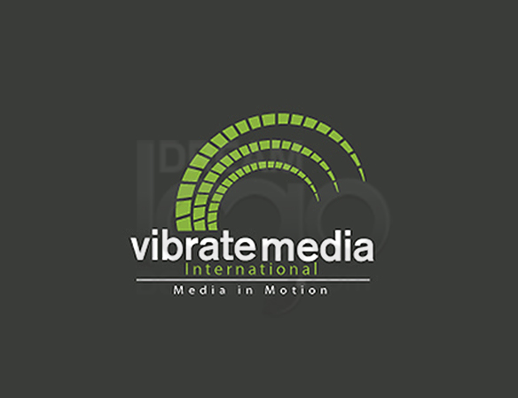 Vibrate Media Entertainment Logo Design - DreamLogoDesign