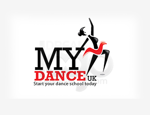 My Dance Entertainment Logo Design - DreamLogoDesign