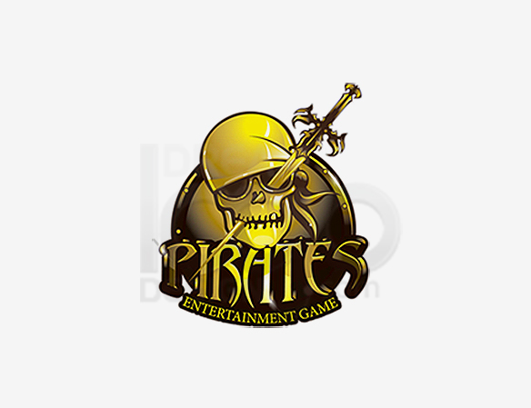 Pirates Entertainment Game Logo Design - DreamLogoDesign