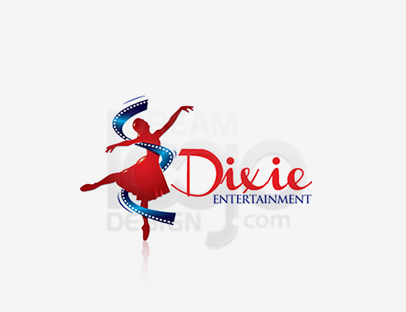 Dixie Entertainment Logo Design - DreamLogoDesign