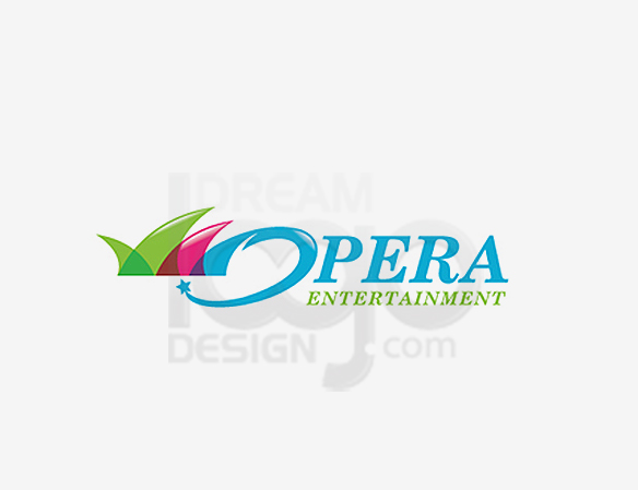 Opera Entertainment Logo Design - DreamLogoDesign