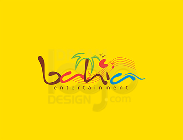 Entertainment Logo Design Portfolio 39 - DreamLogoDesign