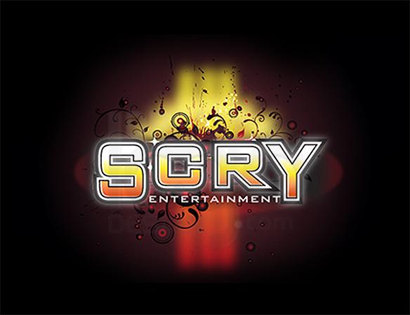 SCRY Entertainment Logo Design - DreamLogoDesign