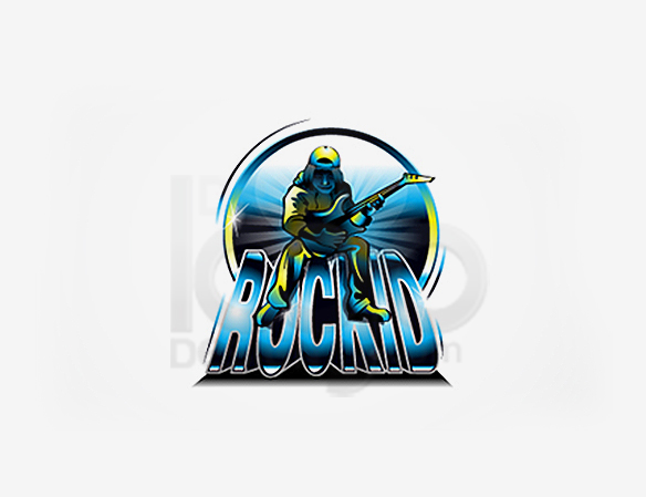 RockID Entertainment Logo Design - DreamLogoDesign