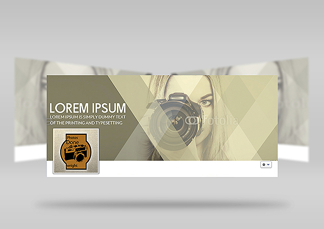 Custom Facebook Cover Design Portfolio 1 - DreamLogoDesign