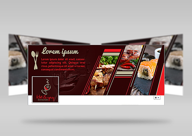 Custom Facebook Cover Design Portfolio 2 - DreamLogoDesign