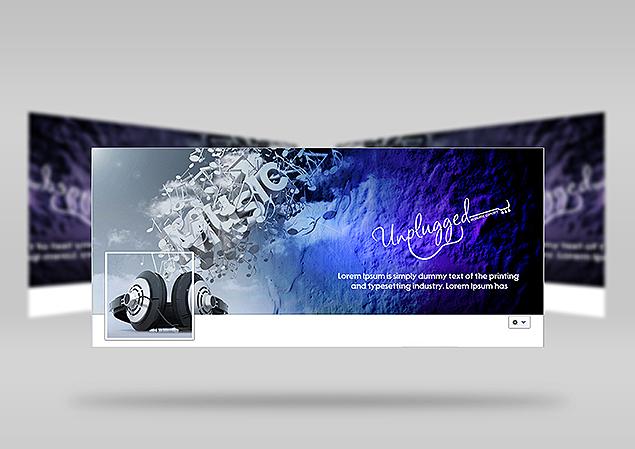 Custom Facebook Cover Design Portfolio 6 - DreamLogoDesign