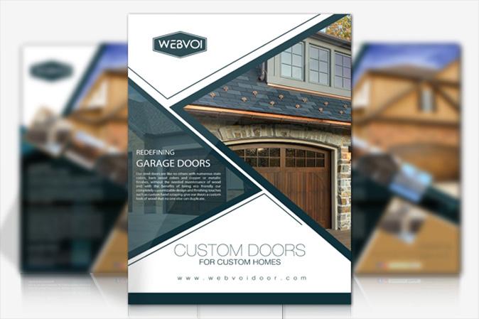 Double Sided Flyer Design Portfolio 3 - DreamLogoDesign