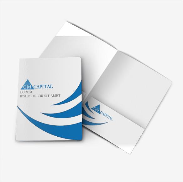 Folder Design Portfolio 2 - DreamLogoDesign