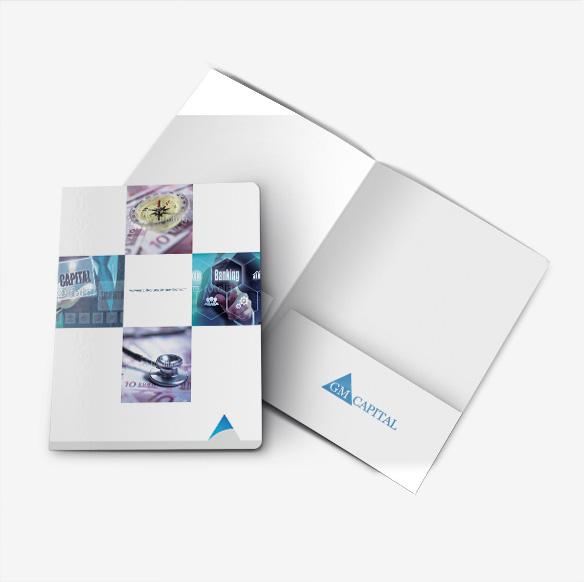 Folder Design Portfolio 5 - DreamLogoDesign