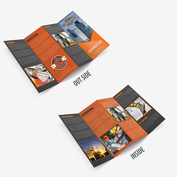 Four Fold Brochure Design Portfolio 1 - DreamLogoDesign