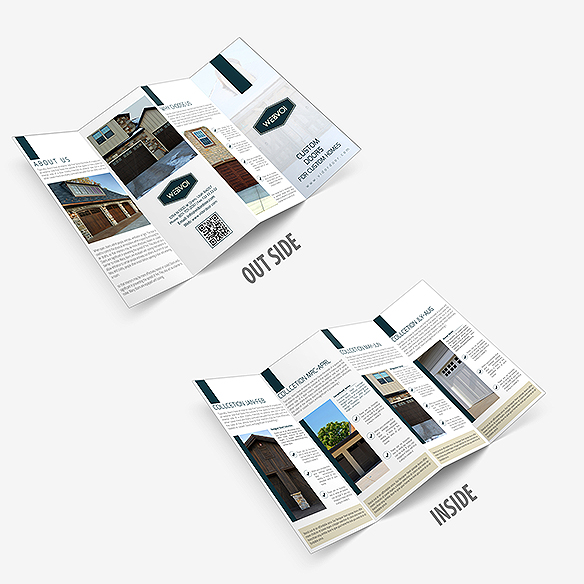 Four Fold Brochure Design Portfolio 2 - DreamLogoDesign