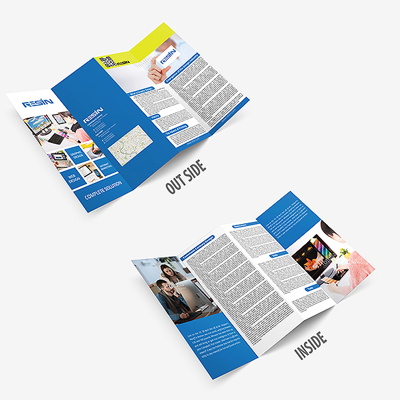 Four Fold Brochure Design Portfolio 3 - DreamLogoDesign
