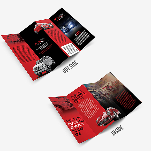 Four Fold Brochure Design Portfolio 4 - DreamLogoDesign