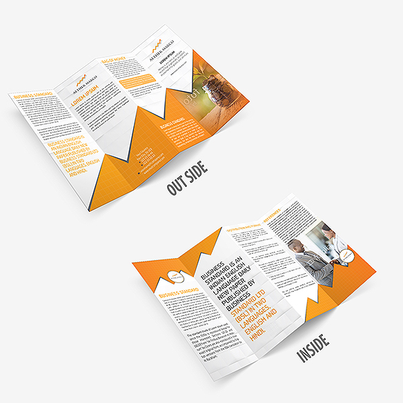 Four Fold Brochure Design Portfolio 5 - DreamLogoDesign