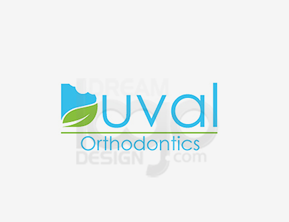 Duval Orthodontics Healthcare Logo Design - DreamLogoDesign