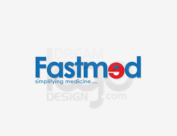 Fastmed Healthcare Logo Design - DreamLogoDesign