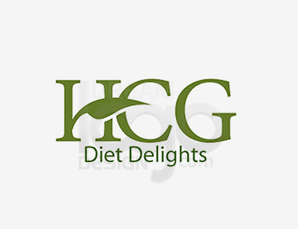 HCG Diet Delights Healthcare Logo Design - DreamLogoDesign