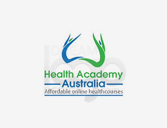 Health Academy Australia Healthcare Logo Design - DreamLogoDesign