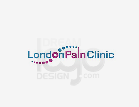 London Pain Clinic Healthcare Logo Design - DreamLogoDesign