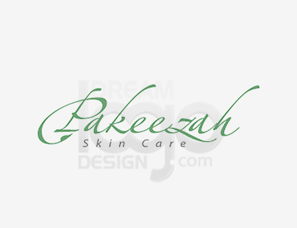 Pakeezah Skin Care Logo Design - DreamLogoDesign