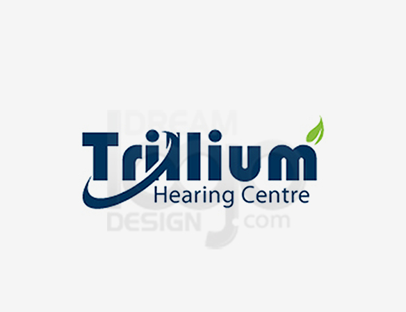 Trillium Hearing Centre Healthcare Logo Design - DreamLogoDesign