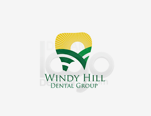 Windy Hill Dental Group Healthcare Logo Design - DreamLogoDesign