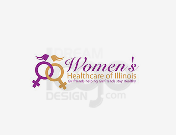 Women's Healthcare of Illinois Healthcare Logo Design - DreamLogoDesign