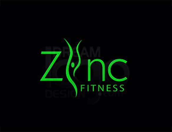 Zinc Fitness Healthcare Logo Design - DreamLogoDesign