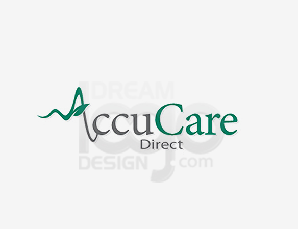 Accu Care Direct Healthcare Logo Design - DreamLogoDesign
