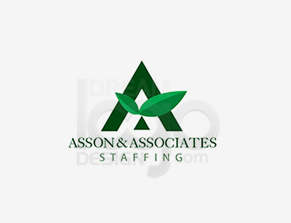 Asson & Associates Staffing Healthcare Logo Design - DreamLogoDesign