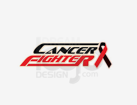 Cancer Fighter Healthcare Logo Design - DreamLogoDesign