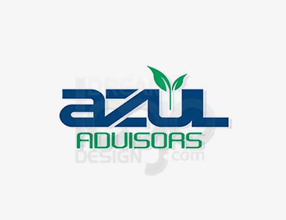 Azul Advisers Healthcare Logo Design - DreamLogoDesign