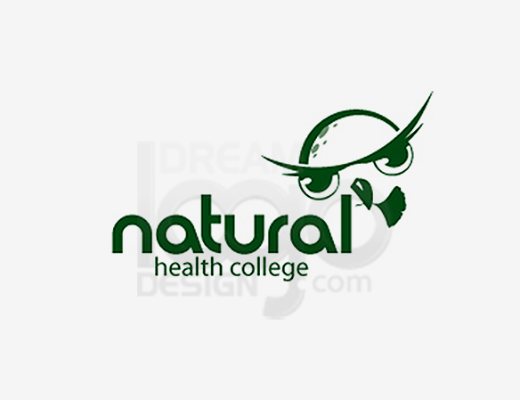 Natural Health College Healthcare Logo Design - DreamLogoDesign