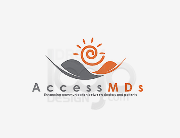 Access MDs Healthcare Logo Design - DreamLogoDesign