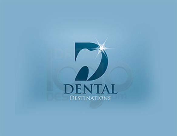 Dental Destinations Healthcare Logo Design - DreamLogoDesign