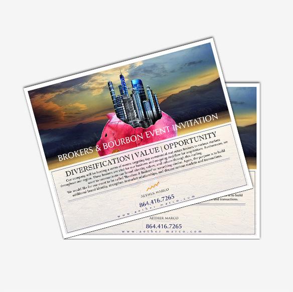 Invitation Card Design Portfolio 1 - DreamLogoDesign