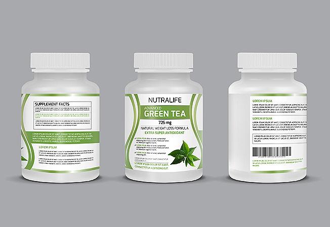 Product Label Design Portfolio 6 - DreamLogoDesign