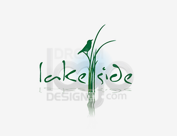 Lake Side Landscaping Logo Design - DreamLogoDesign