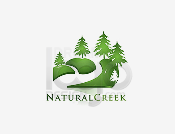 Natural Creek Landscaping Logo Design - DreamLogoDesign