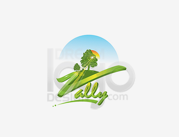 Vally Landscaping Logo Design - DreamLogoDesign