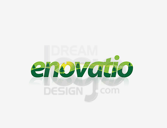 Enovatio Landscaping Logo Design - DreamLogoDesign