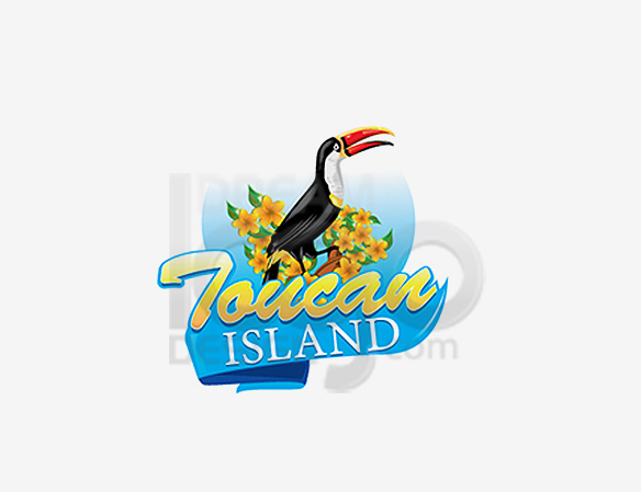 Toucan Island Landscaping Logo Design - DreamLogoDesign