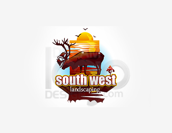 South West Landscaping Logo Design - DreamLogoDesign