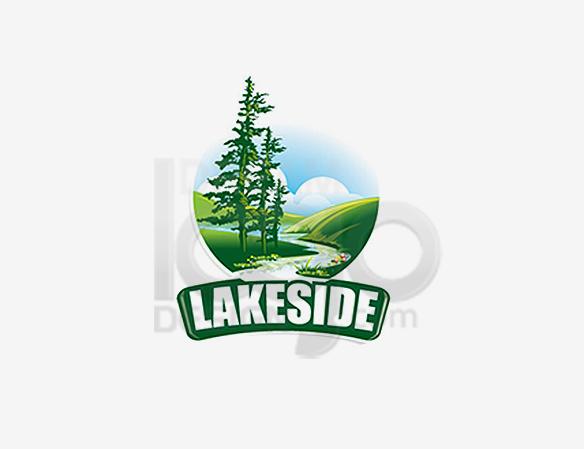 Lakeside Landscaping Logo Design - DreamLogoDesign