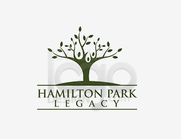 Hamilton Park Legacy Landscaping Logo Design - DreamLogoDesign