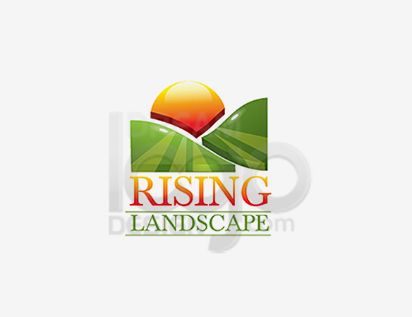 Rising Landscape Logo Design - DreamLogoDesign