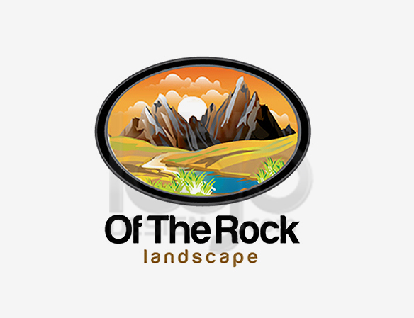 Of The Land Landscape Logo Design - DreamLogoDesign