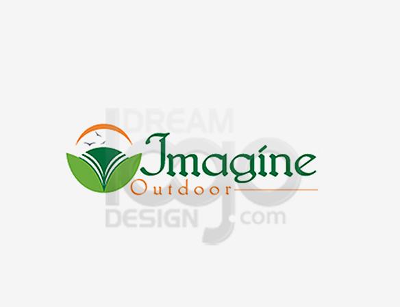 Imagine Outdoor Landscaping Logo Design - DreamLogoDesign